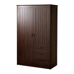MUSKEN Wardrobe with 2 doors+3 drawers - IKEA