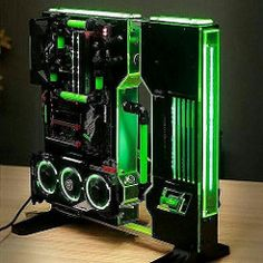Computer Education World. The Best Advice On Buying A Desktop Computer. The time to buy a new computer is now. Gaming Computer Setup, Gaming Pc Build, Computer Build, Gaming Pcs, Gaming Room Setup, Pc Setup, Computer Technology, Technology Gadgets, Tech Gadgets