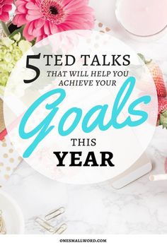 TED Talks that deliver actionable advice and inspiration to help you achieve your goals this year. Click for tips on making your dreams reality.