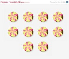 SALE 10 Off 10 pcs 12mm Photo Glass Cabochons by mixnmatchsupplies, $2.88