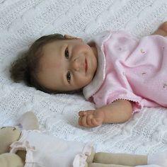 Doves Nursery Sweet Reborn Baby Girl A Linde Scherer 'Rieke' Sculpt | eBay
