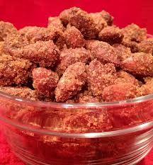 Crock Pot Cinnamon Almonds | http://www.epicurious.com/recipes/member/views/CROCK-POT-CINNAMON-ALMONDS-52459181