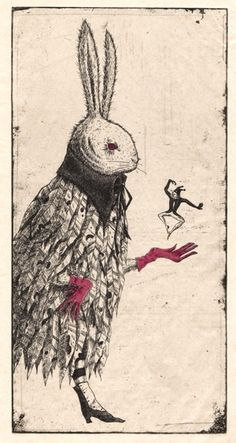 I love strange little illustration