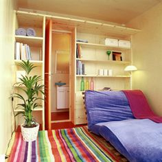 Mobile Home Decorating Tips Like The Idea Of Having A Bookshelf Wall On The  Wall With