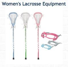 Learn here about sticks for beginners, goggles, mouth guards and more. See more here: http://www.comlax.com/guidance-info/womens-lacrosse-equipment