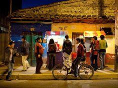 A street vendor lights the night in Huaraz, Peru. Photograph by Heiko Meyer, laif/Redux