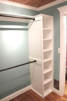 Tension rod + shelf = closet space: simple ways to increase the value of your home