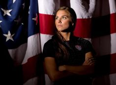 Alex Morgan, at 23, is a rising star in U.S. women's soccer. She'll be part of the show at the London Olympics.
