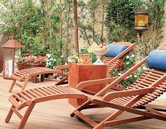 Como criar um jardim de estar - Decoração - Plantas, Flores e Jardins