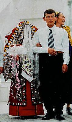 Uzbek Bride and Groom