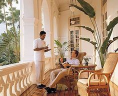 Ideas For Tropical Patio Ideas British Colonial Colonial India, British Colonial Decor, French Colonial, Tropical Patio, Tropical Style, Tropical Decor, West Indies Style, British West Indies, Porches
