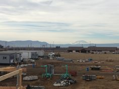 This #WinterWednesday takes us to #Swinerton's Legends Casino Expansion project for the Yakama Nation. Checkout the awesome snowcapped view of Mount Adams from the jobsite!