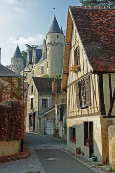 Medieval Village, Montrésor, France photo via ladonna