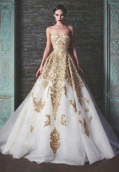 It's so pretty, though I wouldn't want it as my wedding gown
