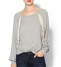 Ella Moss Loose Fringe Pullover is part of the #topnotch collection on Haute Day.  Check out http://hauteday.com/