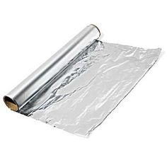 To remove rust from surfaces, all you need to do is tear off a sheet, roll it into a ball (shiny side out, preferably) and start rubbing away the rust. And voila… shiny and new!    Havent tried it yet...