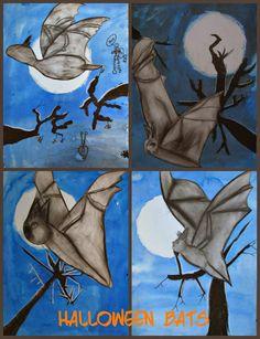 MaryMaking: Moonlit Bats