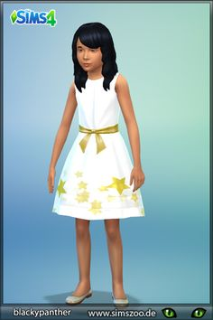 Blackys Sims 4 Zoo: Stars dress by Blackypanther • Sims 4 Downloads