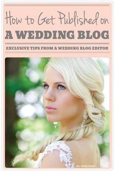 your wedding published tips