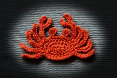 Ravelry: sea creatures applique 1 by Ramona Byers