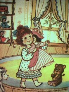 (The Gingham Girls) The Ice Cream Parade, Joan Chase Bowden, Illustrated y Kate Lang, 1976 Western Publishing co.