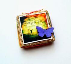 Believe Mini Canvas by Dana Tatar - Tando Creative