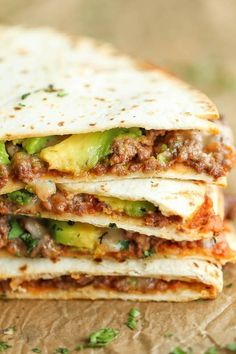 You can do better than a chicken quesadilla. Get the recipe from Damn Delicious.   - Delish.com