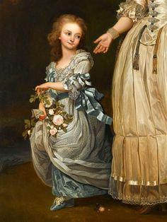 Marie Thérèse Charlotte di Francia, la prima figlia di Luigi XVI e Maria Antonietta