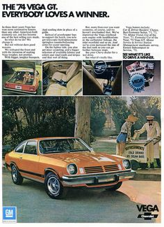 1974 Chevrolet Vega Advertising Road & Track February 1974   Flickr - Photo Sharing!