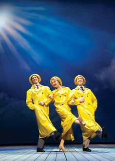 singin in the rain, palace theatre