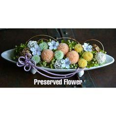 和風プリザーブドフラワー ピンポンマム 響花の通販 (フラワー・ガーデン) | ハンドメイド・手作り通販のdクリエイターズ
