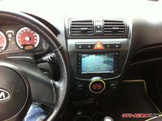 Xe được tích hợp bảng điều khiển LCD