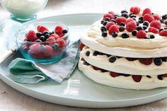 Meringue Layer Cake recipe by Annabel Langbein
