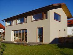 Fassadenfarbe einfamilienhaus  Pin von Karin Kamuf auf h1 | Pinterest | Neubau, Fassaden und ...