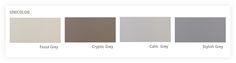 Gietvloeren in effen kleuren die een strakke basis voor elk interieur vormen.