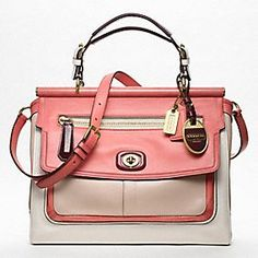 The Coach Pinnacle Colorblock Louisa