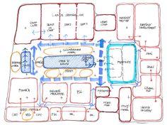 bubble    diagram    hotel design  Google Search   Hotel Design Program   Pinterest      Diagram     Google