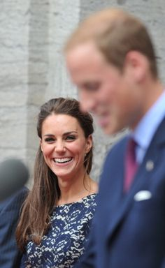 William and Catherine, The Duke and Duchess of Cambridge. Canadian tour. via middletonlove.tumblr.com