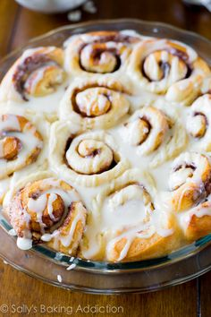 My BEST ever Cinnamon Rolls - totally from scratch, great beginnger recipe!