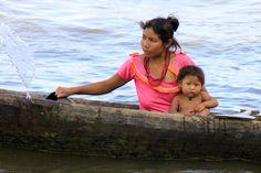 Warao tribe on the Orinoco Delta (Venezuela)