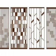 Home Decorators Collection Blinds Screen Design, Facade Design, Partition Screen, Divider Screen, Partition Walls, Jaali Design, Stainless Steel Screen, Window Grill Design, 3d Interior Design