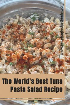 Cold Tuna Pasta Salad is a staple in our family. We have been coined to have the world's best tuna pasta salad and asked to bring it to every function we're invited to. This easy tuna pasta salad is creamy and filled with lots of veggies will fill tummies and make people happy. Easy Cold Pasta Salad, Creamy Tuna Pasta, Tuna Salad Pasta, Pasta Salad Recipes, Pasta Salad Ingredients, Homemade Mayonnaise, Famous Recipe, Fill, Veggies