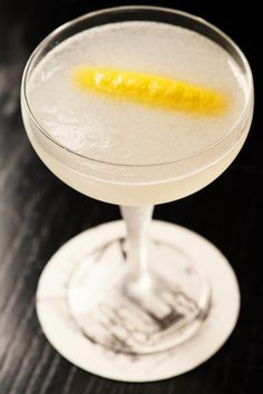 Oh Gosh, by Tony Conigliaro [Bacardi Superior Rum, Combier Triple Sec, Lime juice, Sugar Syrup, Chilled Mineral Water]
