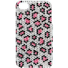 Fuchsia Leopard iPhone Case ($9.50) ❤ liked on Polyvore