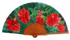 Abanicos de Flores - PinSed Antique Fans, Vintage Fans, Hand Held Fan, Hand Fans, Fan Decoration, Electric Fan, Writing Pens, Kawaii Clothes, Chest Tattoo