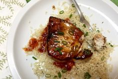 The Briny Lemon: Pan-Seared Swordfish with Chile-Apricot Sauce