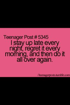 It happens literally every single day!!!