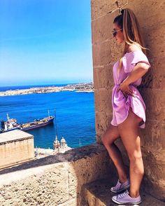 Last look on Valetta  sweet memories  #polishgirl #polskadziewczyna #polishmodel #hungariangirl #girl #girly #tb #fit #fitgirl #slim #ootd #outfitoftheday #outfit #instafashion #instatraveling #malta #lovemalta #prettylittleiiinspo #todaysoutfit #todayslook #inspiration #inspired #fashionpost #pic #likeforlike #likeforme #streetstyle #streetlook #