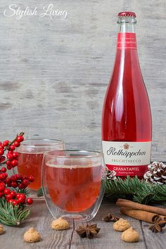 Rotkäppchen Fruchtsecco Granatapfel Winterpunsch Best Picture For healthy food easy For Your Taste You are looking for something, and it is going to tell you exactly what you are looking … Granada, Tailgate Drinks, Honey Mustard Glaze, Best Mixed Drinks, Non Alcoholic Cocktails, Gold Christmas Decorations, Winter Drinks, Christmas Snacks, Roasted Almonds