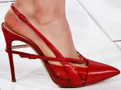 Love these red heels...